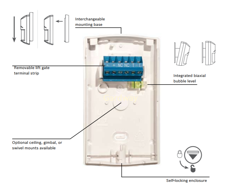 bosch motion sensor wiring diagram  | 1599 x 1200